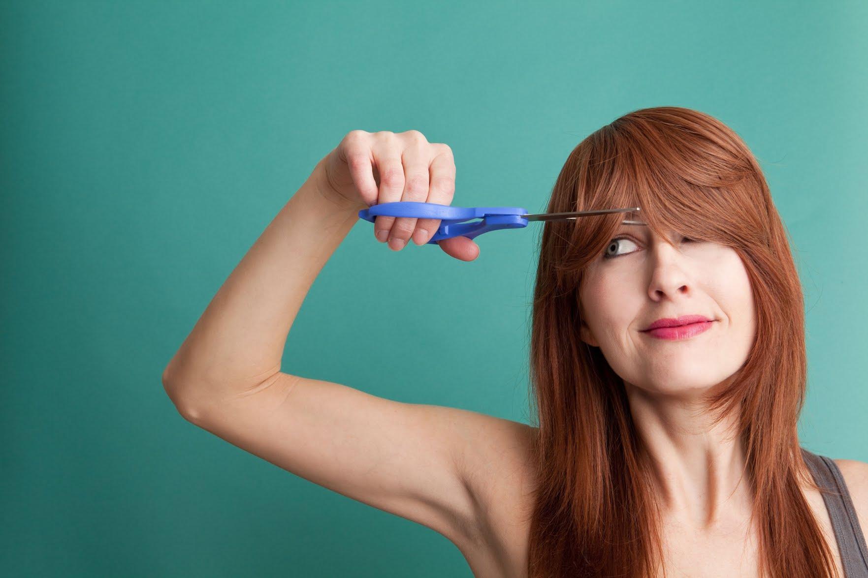 کوتاه کردن مو چتری